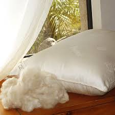 natural kapok pillows with organic cotton cover