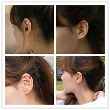 ear cuffs for pierced ears best quality new arrive gold silver copper metal moon clover