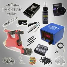 tattoo kit without machine tattoo kit inkstar venture rotary and radiant black ink
