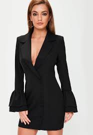 blazer dresses shop tuxedo dresses missguided