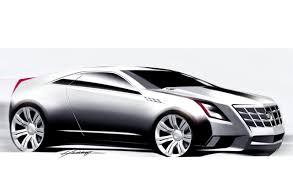 cadillac cts coupe concept car body design