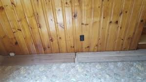 need help what flooring goes with knotty pine walls