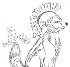 sparta with a spartan helmet by hawaiifan on deviantart