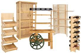 wood display retail shelving storage displays plastic metal wood racks