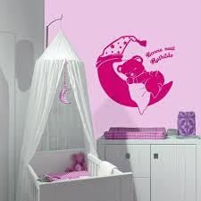 stickers chambre bébé nounours exceptional stickers chambre bebe personnalise 2 sticker