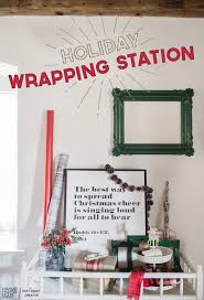 christmas gift wrapping supplies create a wrapping station diy gifts holidays and gift