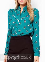 bird blouse soapstyle hollyoaks s green blue bird blouse