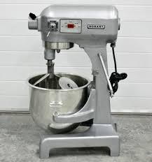 hobart mixer with steel bowl dough hook paddle great design