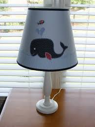 Nautical Lamps Whale Lamp Shade Whales For Will Pinterest Nursery Babies