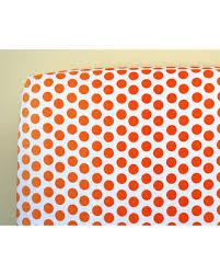 Orange Crib Bedding Deals On Orange Crib Sheet Neutral Baby Bedding Ombre Dot Orange