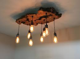 Pleasant Rustic Wooden Wrought Iron Chandeliers Shades Of Light