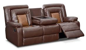 Top Grain Leather Reclining Sofa Sofa Light Leather Genuine Leather Sofa Top Grain