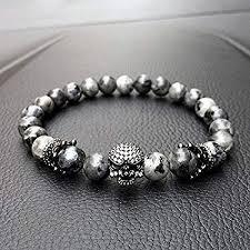 skull bracelet charm images Paweena charm men cz skull crown india labradorite jpg
