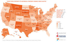 Australian States Map by Us Australia Imports And Exports Asia Matters For America By The