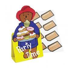 paddington bear party invites free delivery
