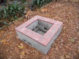 outdoor wonderful inexpensive backyard fire pit ideas build fire
