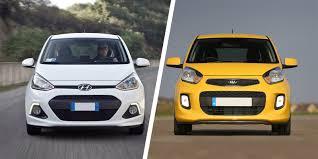 Kia I10 Hyundai I10 Vs Kia Picanto Comparison Carwow