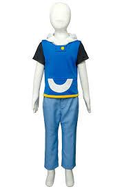 Ash Ketchum Halloween Costume Aliexpress Buy Kids Pokemon Ag Ash Ketchum Satoshi Season 2