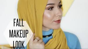 tutorial hijab nabiilabee fall makeup tutorial hijab tutorial nabiilabee youtube