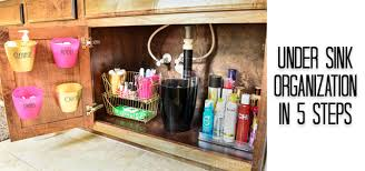 Under Cabinet Storage Ideas Bathroom Organization Under The Sink Tips Side 1 Polished Habitat