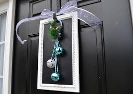 a vegas at heart christmas diy door decoration
