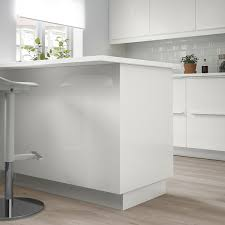 high gloss white kitchen cabinets förbättra cover panel high gloss white 36x96 ikea
