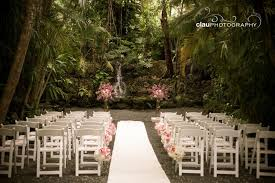 wedding venues miami grotto in pink the cooper estate miami fl wedding
