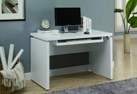 Modern Desk Ls White Modern Computer Desk Stunning 16 48 Modern White Computer