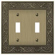 Travertine Switch Plates by 4 Bronze Switch Plates Wall Plates The Home Depot