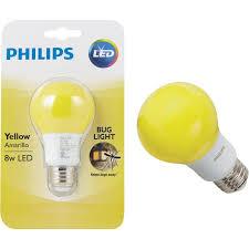 bug light light bulbs buy philips a19 medium led bug light bulb