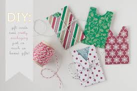 make gift cards diy christmas gift card holders gift ideas