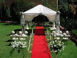 small backyard wedding decoration ideas house design and planning