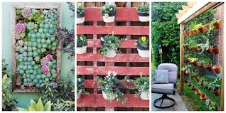 creative of vertical garden accessories garden styling with pallet