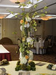 candi u0027s floral creations ostrich feather centerpiece