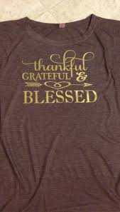 thanksgiving tshirt thankful grateful and blessed thanksgiving shirt shirt unisex