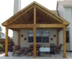 shape of the roofline is nice covered deck designs bing images
