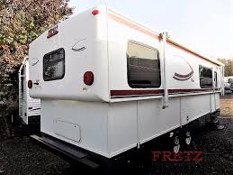 used 2010 hi lo trailer hi lo 2810h travel trailer at fretz rv
