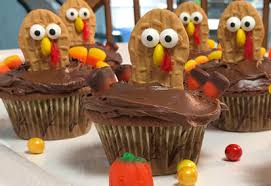 tops friendly markets recipe nutter butter thanksgiving cupcakes