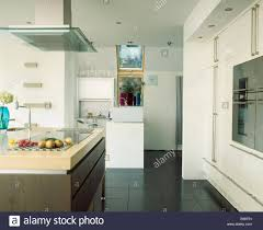 modern kitchen extractor fans black flooring in modern white kitchen with extractor fan over hob
