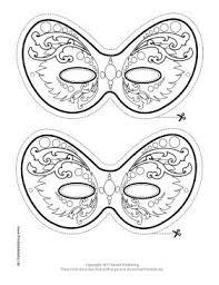 printable mardi gras mask u2013 craftbnb