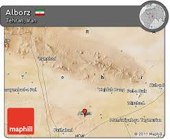 tehran satellite map free satellite map of alborz