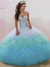 quinceanera dresses ombre quinceanera dresses 2017 with exposed boning and major beading