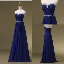 prom dress royal blue prom dresses long chiffon bridesmaid dresses