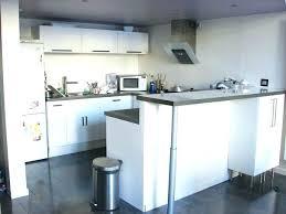 hauteur fenetre cuisine plan bar cuisine comptoir separation cuisine salon bar plan de