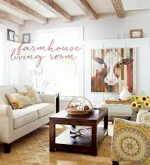 Farmhouse Sitting Room - farmhouse decorating ideas design u0026 decor
