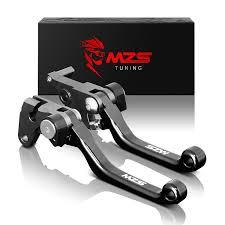 amazon com mzs cnc pivot brake clutch levers for suzuki rm125