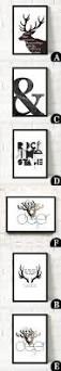 northern europe minimalist personality art printing framed wall