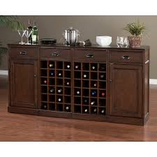 sideboards inspiring buffet with wine storage buffet server with