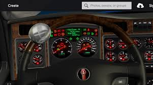kenworth 2017 speedometer km h kenworth w900 and rework textures dashboard ats