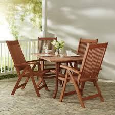 Wood Patio Furniture Sets Wood Patio Furniture You U0027ll Love Wayfair